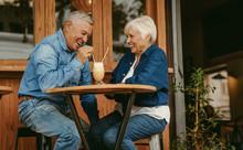 Senior Couple Having Great Tim...
