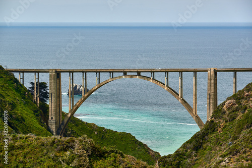 Keuken foto achterwand Verenigde Staten Bixby Creek Bridge on Highway 1, California
