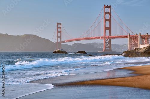Fotobehang Amerikaanse Plekken Golden Gate Bridge, San Francisco, California