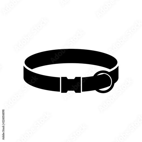 Billede på lærred Classic dog collar