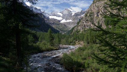 Gran Paradiso from the Vanonty valley