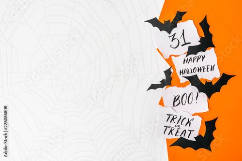 Fényképezés  Halloween background, mockup