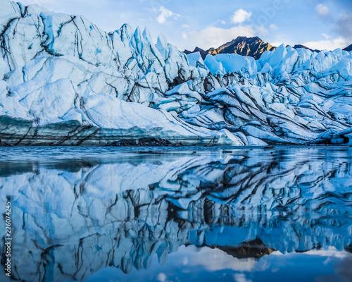 Fotografia, Obraz  Matanuska Icefall Reflection