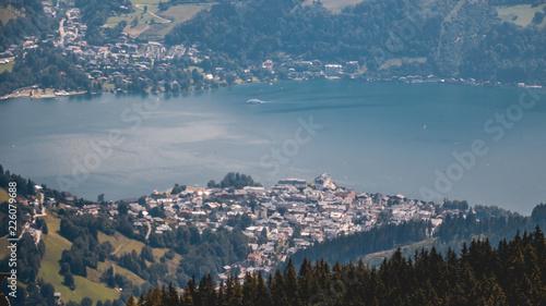 Beautiful alpine view at Schmittenhoehe - Zell am See - Salzburg - Austria