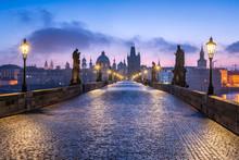 Karlsbrücke In Prag, Tschechien
