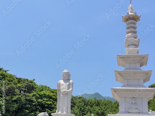 Fotografie, Obraz  Pharmacist Buddha Buddha at Donghwasa Temple