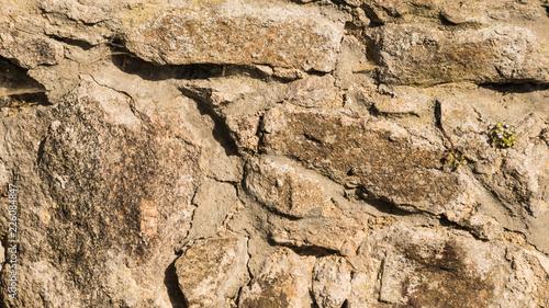In de dag Stenen Old stone wall texture
