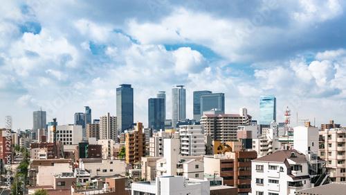 Fototapeta 名古屋市名駅地区の風景