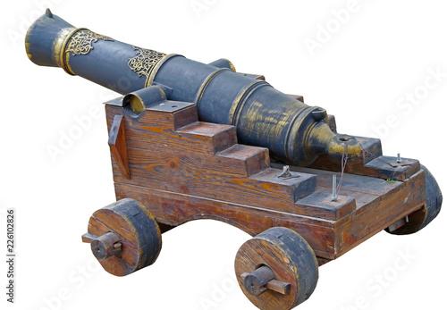 Fototapeta model of old cannon
