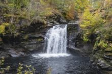 Falls Of Falloch, Loch Lomand National Park, Scotland