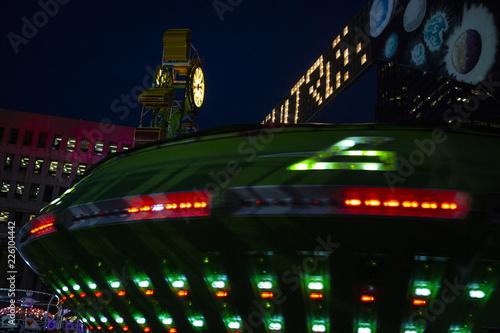 Poster Amusementspark Amusement park ride