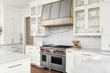 White Kitchen Detail  In New L...
