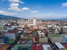 Beautiful Aerial View Of San Jose Costa Rica