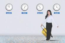 Female Entrepreneur Carries A ...