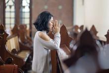 Young Woman Begging Forgivenes...