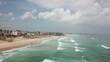 aerial view dakar beach