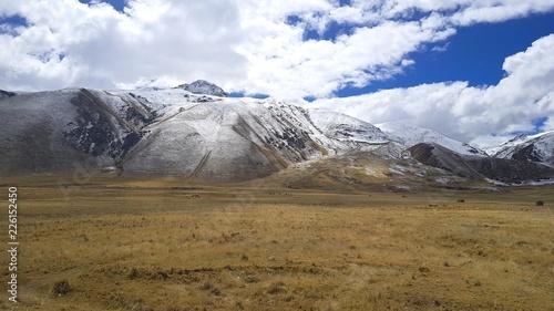 Fotobehang Zuid-Amerika land Cordillère des Andes au Pérou