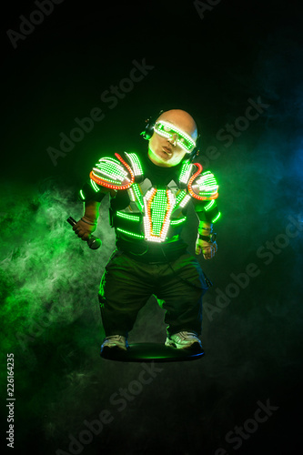 Photo  Little man, dwarf