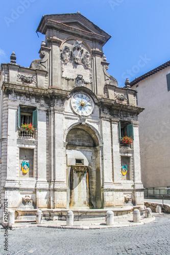 Spoleto town hall