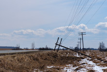 An Accident On The Power Line,...