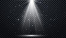 White Spotlights. Light Effe...