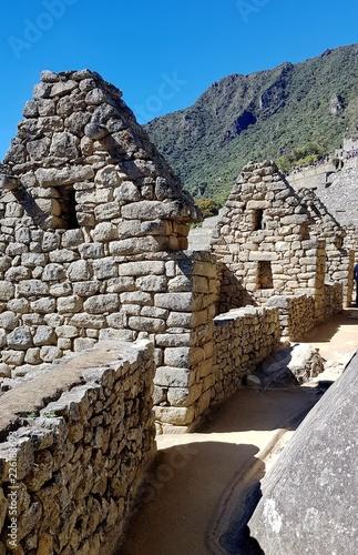 Spoed Foto op Canvas Zuid-Amerika land tours au site du Machu Picchu