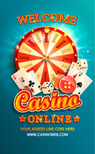 Welcome Flyer For Casino Onlin...