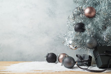 Modern Christmas Background Wi...