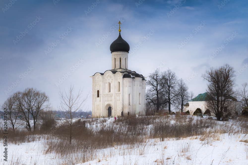 Fototapety, obrazy: Church of the Intercession on the Nerl