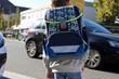 Schulkind im Straßenverkehr