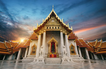 Monk Prayers To Buddha