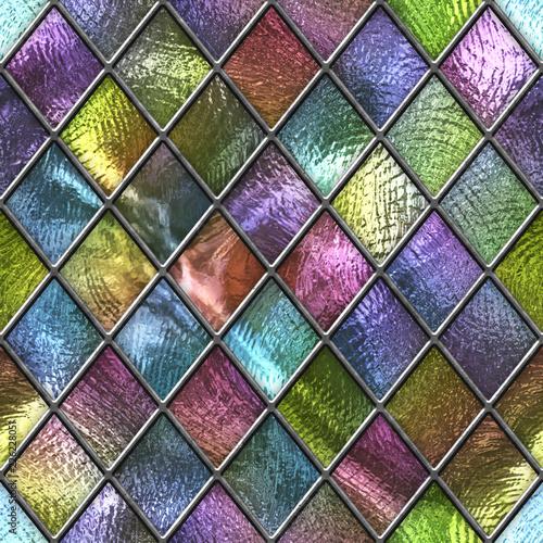 barwiona-szklana-bezszwowa-tekstura-z-kwadrata-wzorem-dla-okno-witraz-3d-ilustracja