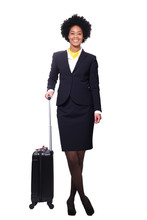 Full Body Flight Attendant