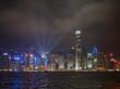 Hong Kong panorama skyline at night