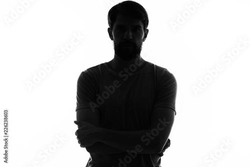 Fotografie, Tablou man shadow