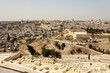 View of Jerusalem from the Mount of Olives, Israel