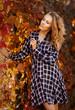 Jesienny portret kobiety