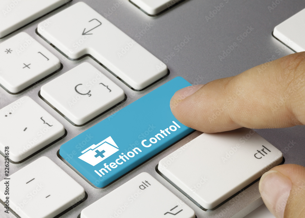 Fototapeta Infection Control