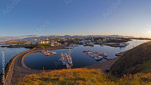 Foto op Aluminium Poort Island, Panorama Stykkisholmur