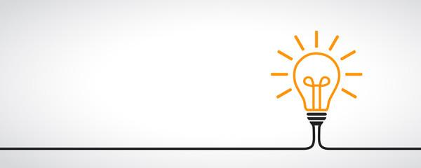 Pomysł, kreatywnie pojęcie znaka żarówka - wektor