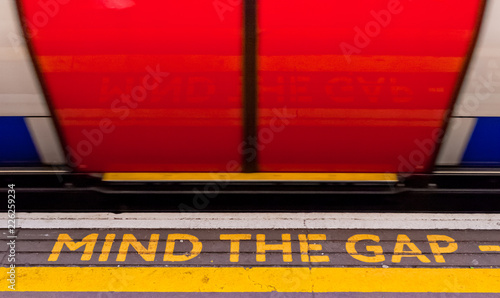 Mind the Gap, London subway