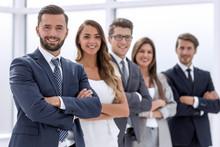 Portrait Of A Confident Business Team