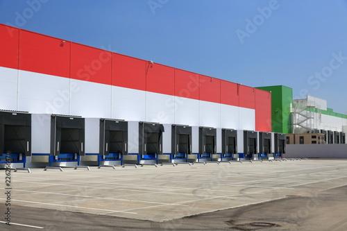 Keuken foto achterwand Industrial geb. New logistics centre for food
