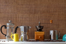 Traditional Coffee Maker Tools...