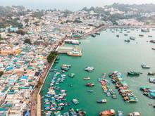 Cheung Chau Island Aerial Shot