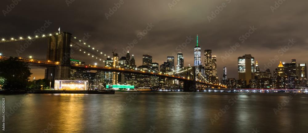 Fototapeta Pont de Brooklyn, New York, USA