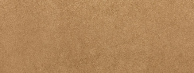 Light brown kraft paper texture banner background