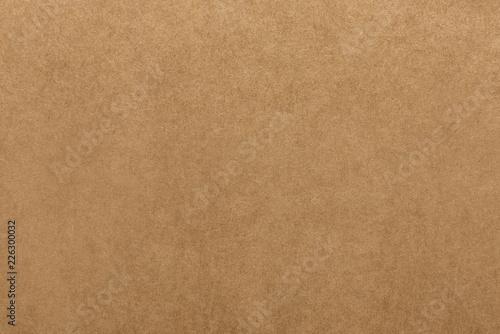Fototapeta Light brown kraft paper texture for background