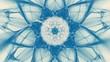 canvas print picture Sternfoermiger Hintergrund - Blau und Weiss