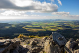 Widok z Mont Mezenc Ardèche